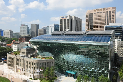 서울시청 전경